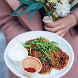 Оладьи из красной чечевицы с овощами: рецепт приготовления