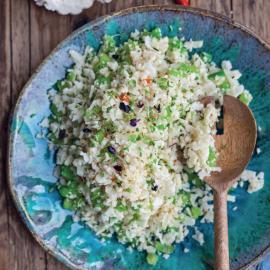 Рис из цветной капусты с овощами: рецепт приготовления