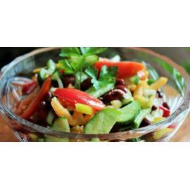 Теплый весенний салат: рецепт приготовления