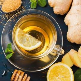 Ароматный весенний чай и чай для баланса капха-доши