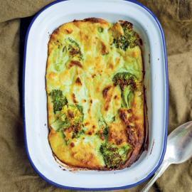 Запеканка из брокколи с адыгейским сыром: рецепт приготовления