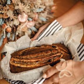 Банановый пирог: рецепт приготовления