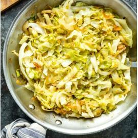 Кичари с белокочанной капустой и горохом: рецепт приготовления
