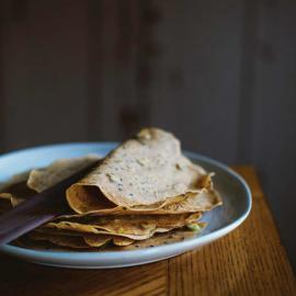 Блинчики с зеленым луком и имбирем: рецепт приготовления для веганов