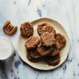 Арахисовые печенья без выпечки: рецепт приготовления для веганов