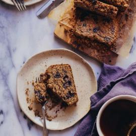 Кекс с черникой: рецепт приготовления для веганов