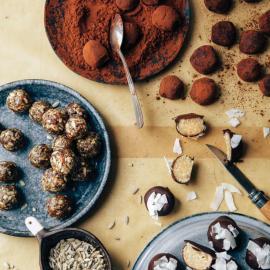 Трюфели со вкусом миндального печенья: рецепт для веганов