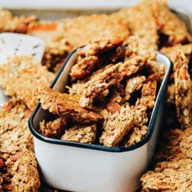 Хрустящая гранола: рецепт приготовления для веганов