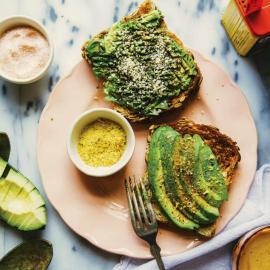 Старый добрый тост с авокадо: рецепт приготовления для веганов