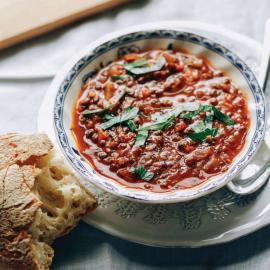 Уютный чечевичный суп: рецепт приготовления для веганов