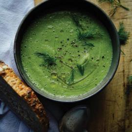 «Печеный» суп: рецепт приготовления для веганов