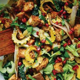 Салат панцанелла с нежной тыквой на День благодарения: рецепт блюда