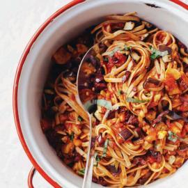 Паста болоньезе с баклажанами: рецепт приготовления для веганов