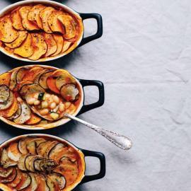 Овощные пироги с фасолью и картофельной корочкой: рецепт блюда