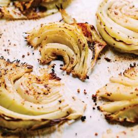 Хрустящая кленово-горчичная капуста: рецепт для веганов
