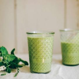 Особенный зеленый смузи: рецепт приготовления для веганов