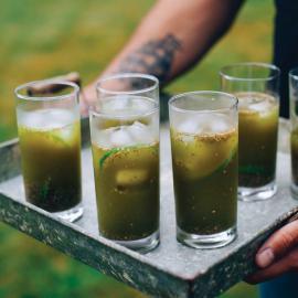 Матча лимонад с семенами чиа: рецепт приготовления для веганов