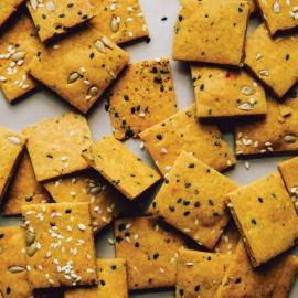 Солнечные крекеры: рецепт приготовления для веганов