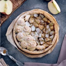 Яблочный пирог: рецепт приготовления