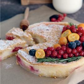 Сметанный пирог: рецепт приготовления