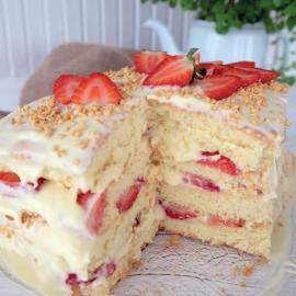 Торт из детства: рецепт приготовления