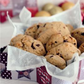 Шоколадно-ореховое печенье: рецепт приготовления