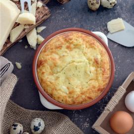 Сырное суфле: рецепт приготовления