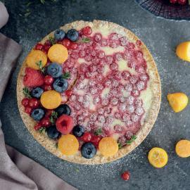 Творожный тарт: рецепт приготовления
