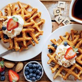 Виды вафель: бельгийские, скандинавские, американские, гонконгские