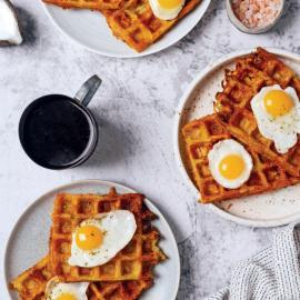 Картофельные вафли с сыром: рецепт приготовления