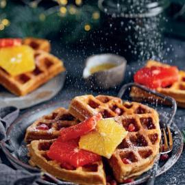 Рождественские имбирные вафли: рецепт приготовления