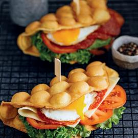 Вафли-сэндвич: рецепт приготовления