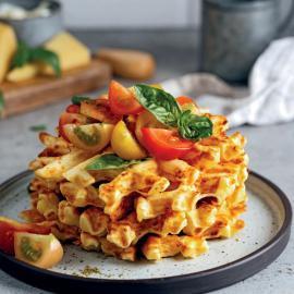 Вафли с сыром: рецепт приготовления