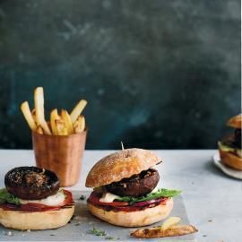 Бургеры с грибами портобелло: рецепт приготовления для веганов