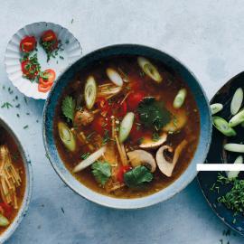 Суп том-ям: рецепт приготовления для веганов