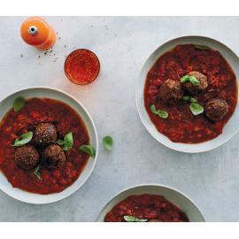 Фрикадельки из макарон с соусом маринара: рецепт для веганов