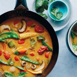 Тайский красный карри: рецепт приготовления для веганов
