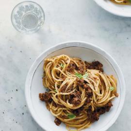Спагетти болоньезе: рецепт приготовления для веганов