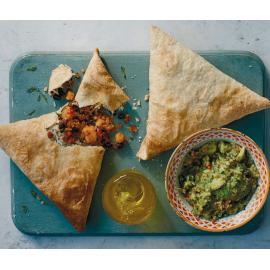 Буррито-самосы: рецепт приготовления для веганов