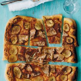 Пицца с джекфрутом и плантаном: рецепт приготовления для веганов