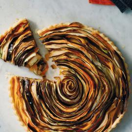 Спиральный тарт: рецепт приготовления для веганов