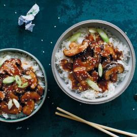 Жареные шиитаке по-азиатски: рецепт приготовления