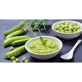 Пюре из зеленого горошка с базиликом: рецепт для веганов