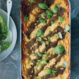 Лазанья с соусом песто: рецепт приготовления для веганов