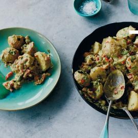 Картофельный салат с гуакамоле: рецепт приготовления для веганов