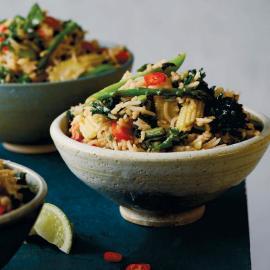 Пряный рис: рецепт приготовления